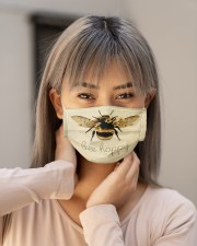 BEE HAPPY Cloth face mask aos-face-mask-lifestyle-18