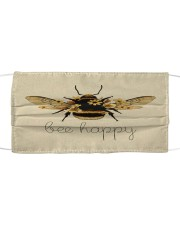 BEE HAPPY Cloth face mask front