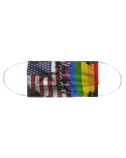 LGBT Flag Face Cloth face mask aos-face-mask-coverlet-lifestyle-front-01