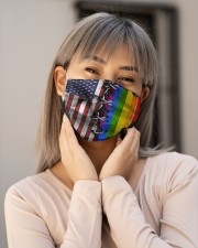 LGBT Flag Face Cloth face mask aos-face-mask-lifestyle-17