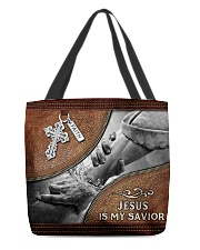 Jesus is my Savior All-over Tote back