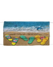 Life is better on the Beach Face Cloth face mask front