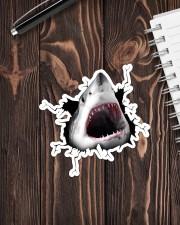 Shark Crack Sticker - Single (Vertical) aos-sticker-single-vertical-lifestyle-front-05