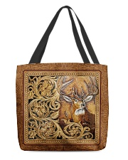 Love Deer pattern All-over Tote front