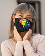 LGBT Lips Mask Face Cloth face mask aos-face-mask-lifestyle-17