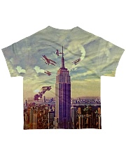 Koala Climbing Building 3D All-over T-Shirt back