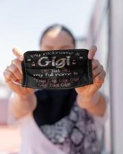 My nickname is Gigi Cloth face mask aos-face-mask-lifestyle-07