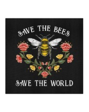 SAVE THE BEES SAVE THE WORLD Cloth face mask aos-face-mask-coverlet-lifestyle-front-02