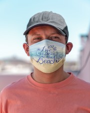 Face Mask - Life's Better at the Beach - PawAnimal Cloth face mask aos-face-mask-lifestyle-06