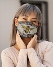 BEE BOHO FACE Cloth face mask aos-face-mask-lifestyle-17