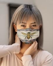BEE BOHO FACE Cloth face mask aos-face-mask-lifestyle-18