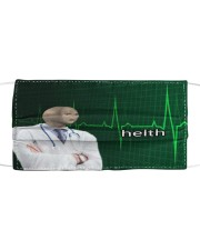Limited Edition Helth  Cloth face mask front