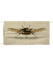 BEE KIND FACE Cloth face mask front