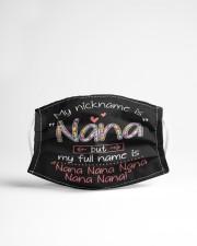 My nickname is Nana Cloth face mask aos-face-mask-lifestyle-22