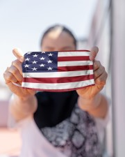 American Flag Mask Face Cloth face mask aos-face-mask-lifestyle-07