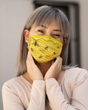 BEE HONEY FACE Cloth face mask aos-face-mask-lifestyle-17