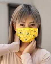 BEE HONEY FACE Cloth face mask aos-face-mask-lifestyle-18