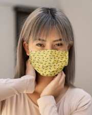 Bee Face Mask - Animal Lover Gifts - PawAnimal Cloth face mask aos-face-mask-lifestyle-18