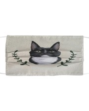 Cat Vintage Face Cloth face mask front