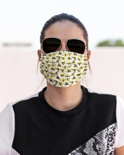 BEE HIVE FACE Cloth face mask aos-face-mask-lifestyle-02