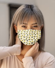 BEE HIVE FACE Cloth face mask aos-face-mask-lifestyle-18