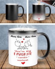 You're my Favorite cardio workout Color Changing Mug ceramic-color-changing-mug-lifestyle-44