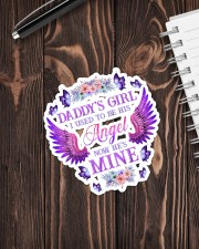 Daddy Girl I used to be his Angel  Sticker - Single (Vertical) aos-sticker-single-vertical-lifestyle-front-05