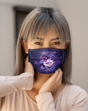 BUTTERFLY NIGHT STAR FACE Cloth face mask aos-face-mask-lifestyle-18