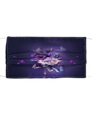 BUTTERFLY NIGHT STAR FACE Cloth face mask front