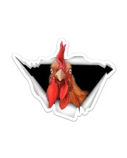 Chicken Crack Sticker - Single (Vertical) front