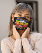 LGBT Whiskey Mask Face Cloth face mask aos-face-mask-lifestyle-17