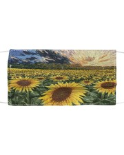 SUNFLOWER FACE Cloth face mask front
