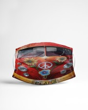 Peace Vw Bus  Cloth face mask aos-face-mask-lifestyle-22
