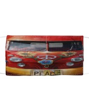Peace Vw Bus  Cloth face mask front