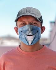 Dolphin Face Cloth face mask aos-face-mask-lifestyle-06