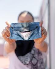 Dolphin Face Cloth face mask aos-face-mask-lifestyle-07