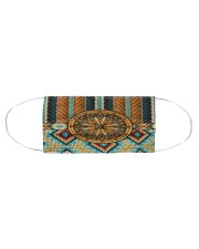 Native American Tribal Patterns Cloth face mask aos-face-mask-coverlet-lifestyle-front-01