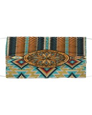 Native American Tribal Patterns Cloth face mask front