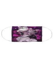 Cats Purple  Cloth face mask aos-face-mask-coverlet-lifestyle-front-01