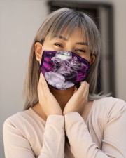 Cats Purple  Cloth face mask aos-face-mask-lifestyle-17