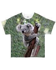 CUTE KOALA CLIMBING All-over T-Shirt front