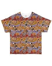 ABORIGINAL PARTERN 3D All-over T-Shirt front