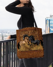 Couple Horse All-over Tote aos-all-over-tote-lifestyle-front-05