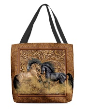 Couple Horse All-over Tote front