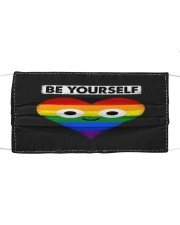 LGBT Heart Mask Face Cloth face mask front