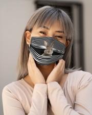 RABBIT STRING FACE Cloth face mask aos-face-mask-lifestyle-17