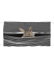 RABBIT STRING FACE Cloth face mask front