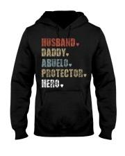 Husband Daddy Abuelo Protector Hero Hooded Sweatshirt thumbnail