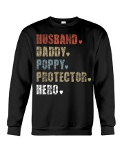 Husband Daddy POPPY Protector Hero Crewneck Sweatshirt thumbnail