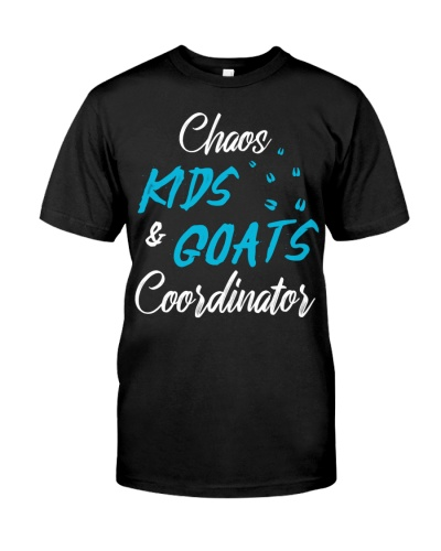 CHAOS KIDS AND GOATS COORDINATOR